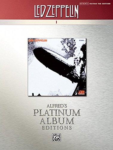 Led Zeppelin I Platinum Guitar: Authentic Guitar Tab: I Platinum Edition
