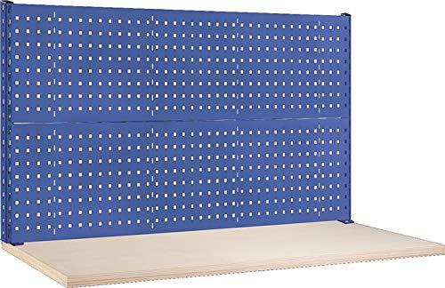 Thur Metall AG Lager- und Betriebseinrichtungen Werkbank-Aufbau B1500xT60xH700mm ohne Energieleiste lichtgrau