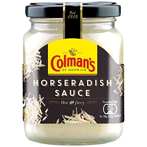 Colmans Saucenglas, Meerrettich, 136 g, 6 Stück