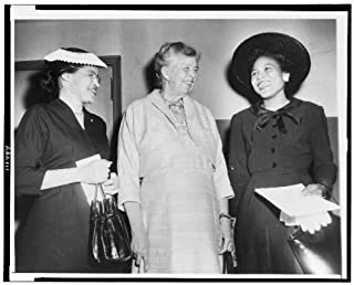Infinite Photographs Photo: Rosa Parks, Eleanor Roosevelt, Foster, Autherine Lucy 1956 Size: 8x10 (Approximately)