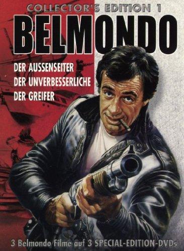 Belmondo: Der Aussenseiter / Der Unverbesserliche / Der Greifer [Collector's Edition] [3 DVDs]