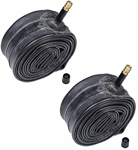 Kenda Inner Tubes Black 26x1.90/1.95/2.10/2.125 Schrader Valve For MTB Mountain Bike, Bulk 2 Pack