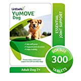 Lintbells | YuMOVE Dog | Essential Hip and Joint Supplement for Stiff Dogs Aged 7 to 8 | 300 Tablets