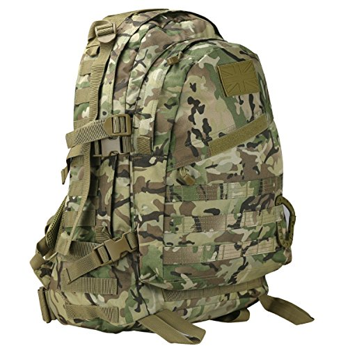 Kombat UK Unisex's Spec-Ops Pack, British Terrain Pattern, 45 Litre