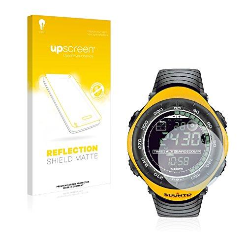 upscreen Entspiegelungs-Schutzfolie kompatibel mit Suunto Vector Yellow – Anti-Reflex Bildschirmschutz-Folie Matt