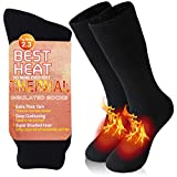 Bun Large Men's Extremes Cold Weather Boot Socks, Thermal Socks Ultra Warm Boot Heavy Boot Mens Work...