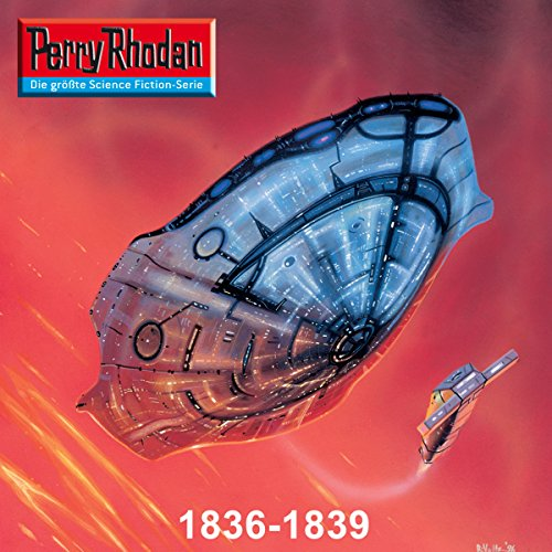 Edition Thoregon: Perry Rhodan 1836-1839 Titelbild