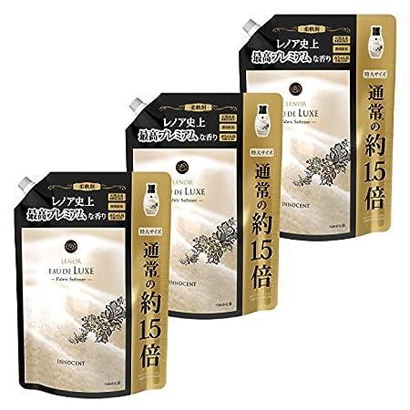 レノア オードリュクス 柔軟剤 イノセント 詰め替え 約1.5倍特大サイズ 700mL×3袋 1,361円送料無料(454円/袋)!