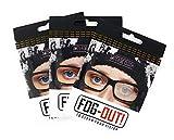 Pack de 3 Nueva Gamuza Antivaho Microfibra para Gafas, Anti empañamiento, Toallitas antivaho Gafas, Bayeta antivaho, Gafas de Lectura Presbicia Foggy paño Microfibra