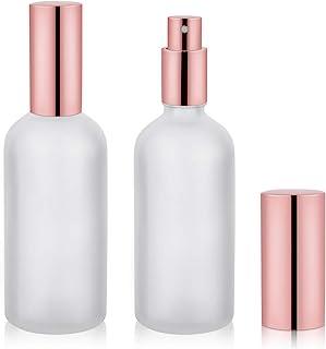 Small Glass Spray Bottle, Perfume Atomizer, Fine Mist Spray, 3.4oz, 2 Pack