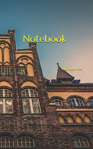 Notebook: architecture façade window building old
