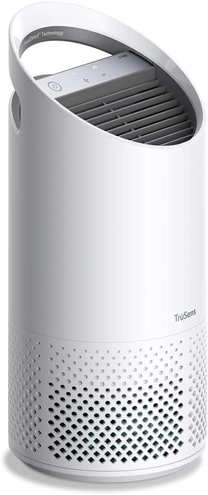 Leitz TruSens Z-1000 Air Purifier Captures Viruses, Hayfever Allergens, Dust, Odours & Smoke, UV-C lamp Kills over 98% of Airborne Bacteria, Cleaner Air Purifier For Home Or Small Room Up To 23m²
