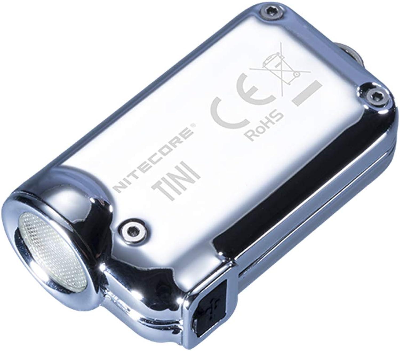 NITECORE TINISS-GL NITECORE TINI SS 380 Lumen USB Rechargeable Keychain Flashlight - Glacier, Youth-Unisex