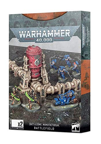 Warhammer Games Workshop 40k: Battlezone Manufactorum - Battlefield Terrain