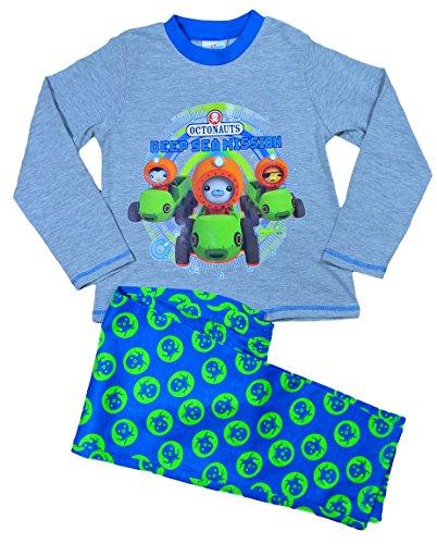 ThePyjamaFactory Jungen Oktonauten Deep Sea Mission 3 bis 6 Jahre W15 Gr. 3-4 Jahre, grau