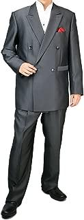 [UNITED GOLD] ダブルスーツ メンズ パーティースーツ ドレススーツ ゆったり ツータック 117871 1.2.3.6.9