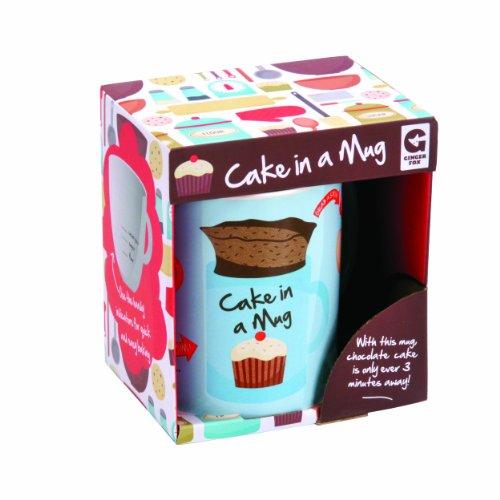Cake in a Mug - With Cake Measuring Inside Mug