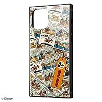 iPhone 12 iPhone 12 Pro 背面は割れにくいアクリル素材 ハイブリッド キャラクター スクエア ケース ミッキーマウス comic