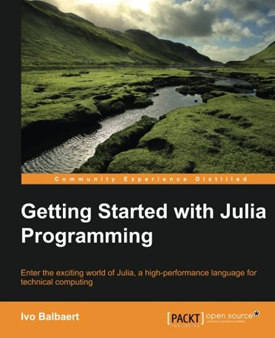 仕立て屋悲劇的な定期的なGetting Started With Julia