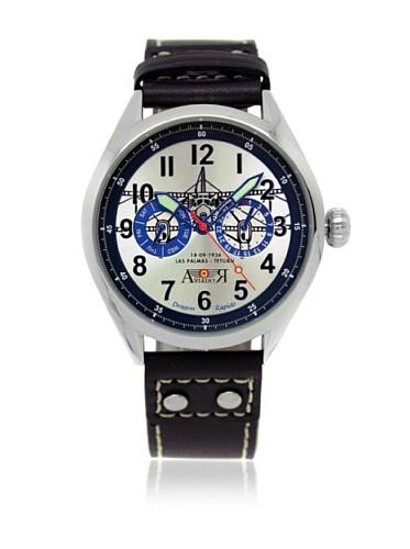 AVIADOR Reloj con Movimiento japonés AV-1025 42 millimeters