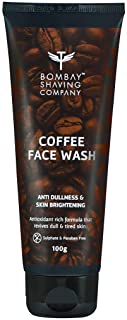 Bombay Shaving Company Coffee Face Wash for Men & Women - Deep-Cleanses, De-Tans & Blackhead Removal | Made in India