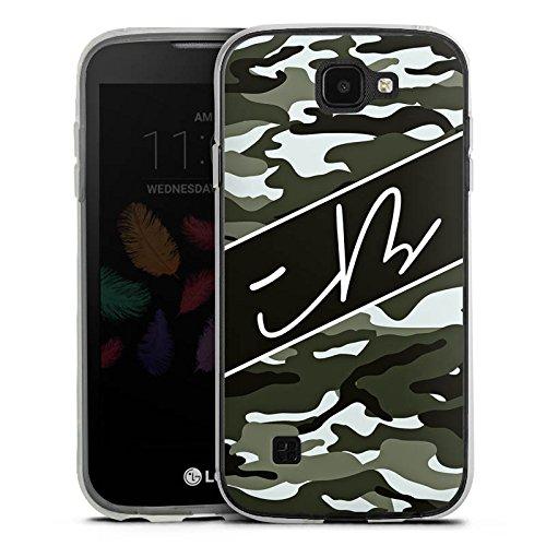 DeinDesign Silikon Hülle kompatibel mit LG K3 (2017) Hülle transparent Handyhülle iBlali Camouflage YouTube