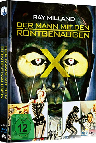 Der Mann mit den Röntgenaugen - Limited Mediabook-Edition (Blu-ray+DVD/in HD neu abgetastet/plus Booklet) (+ DVD)
