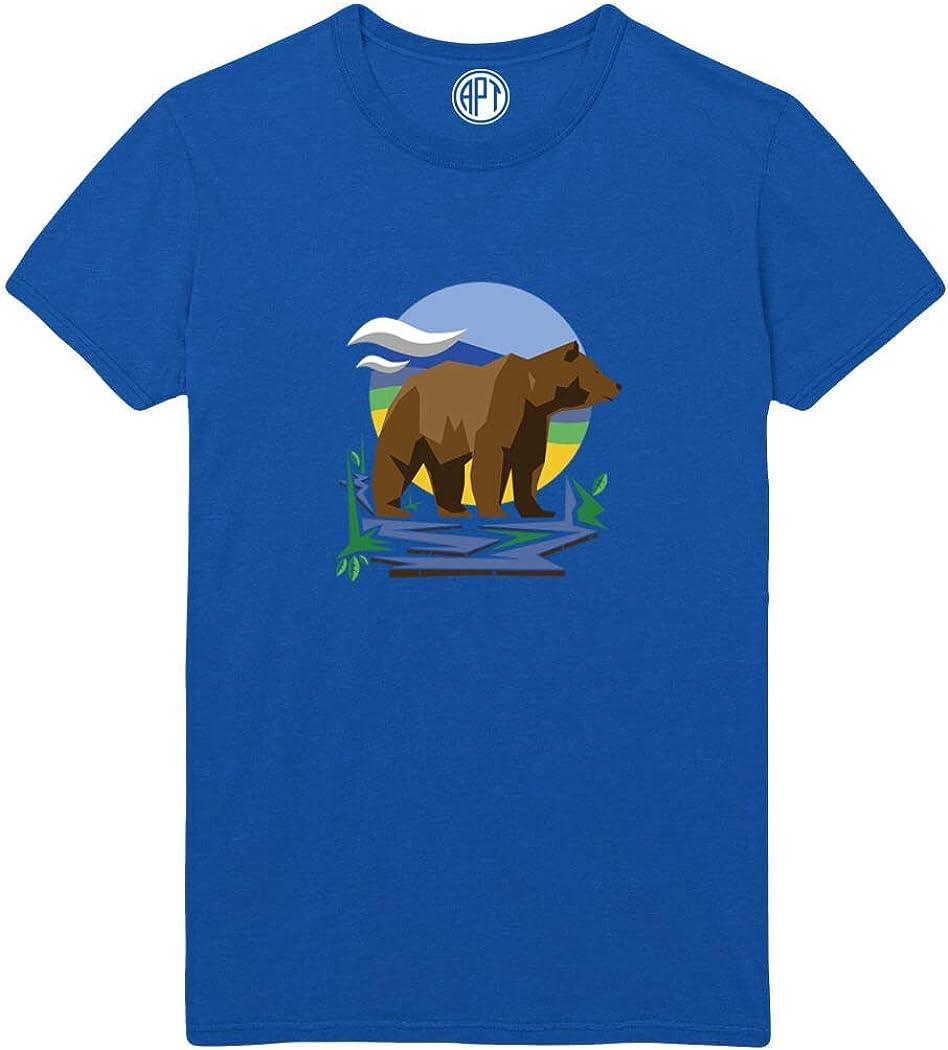 Brown Bear Printed T-Shirt