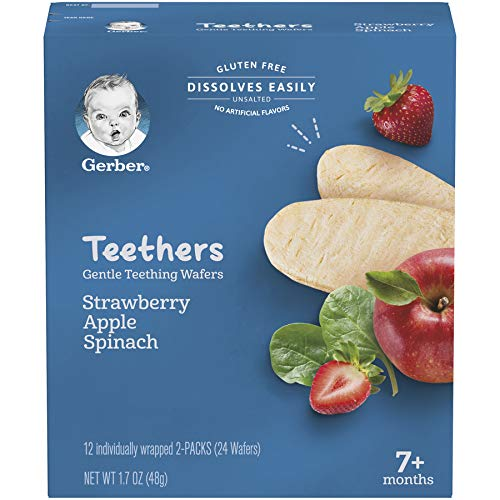 Gerber Teethers Gentle Teething Wafers 6-Count Now $13.41 (Was $25.77)