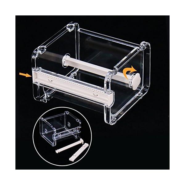 2 pcs HomDSim Washi Tape Dispenser Cutter, organisateur porte-bande de