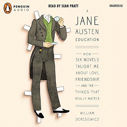 A Jane Austen Education audiobook cover art