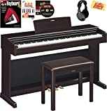 Best Digital Grand Pianos - Yamaha Arius YDP-144 Console Digital Piano - Rosewood Review