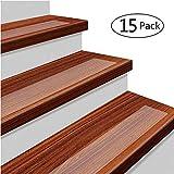 15 x Antirutschstreifen Treppe Set Anti Rutsch Selbstklebende Stufenmatten Transparent Rutsch...