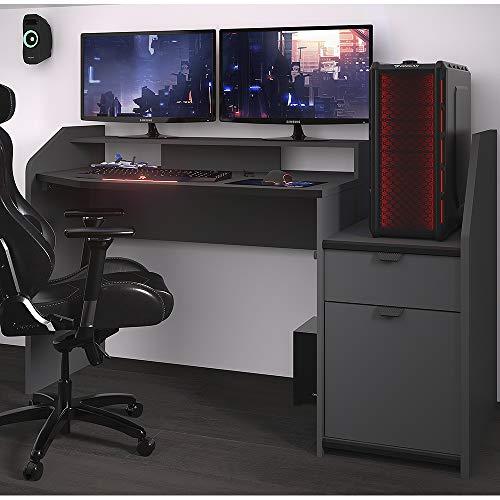 Parisot of France Midi Gaming Desk Workstation