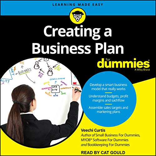 Creating a Business Plan for Dummies cover art