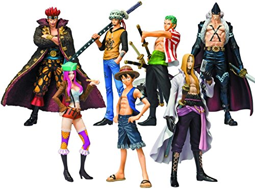 Bandai - Pack de 8 Figurines One Piece Soul of Hyper Figuration - 4543112728814