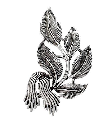 Vintage-Stil, Uni hoch Qualität Elegante Leaf Brosche, perfekte Geschenk für Weihnachten, Muttertag, Lehrer Tag, Geburtstage