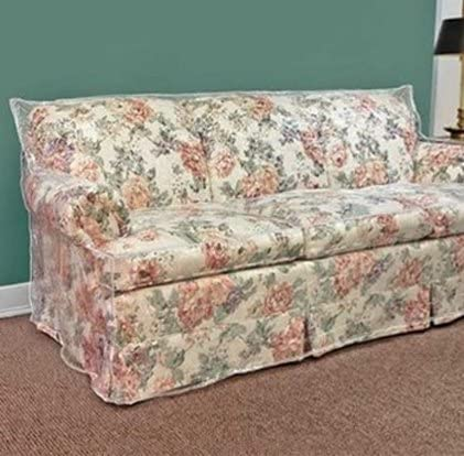 Best Clear Vinyl Furniture Protector - Loveseat Cover - 84\