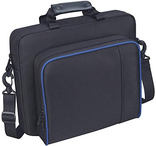 Carrying Case for PS4, New Travel Storage Carry Case, PlayStation Protective Shoulder Bag Handbag for PS4 PS4 Slim System Console and Accessories