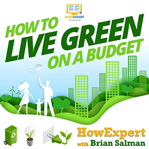 How to Live Green on a Budget audiobook cover art