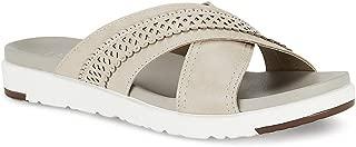 Ceriz Women's Fashion Beige Slipper Sandals