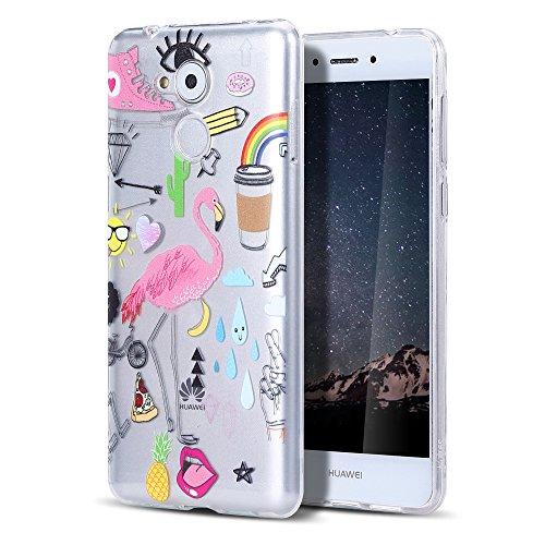 CaseLover Huawei Honor 6C Hülle, Ultradünner Transparenter Tasche Schutzhülle, Huawei Enjoy 6S/6C/Nova Smart(5.0