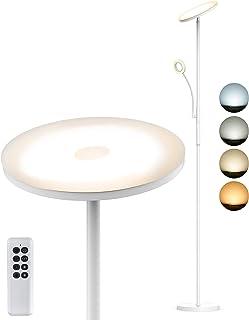Lampe sur pied LED Anten SNOW 175cm | Variable 2000 lm 30 W | avec lampe de lecture de 5W | 4 températures de couleur | av...