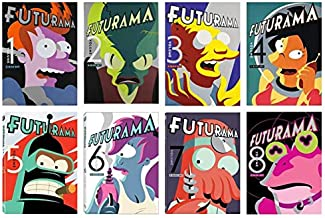 Futurama The Complete Series Collection Seasons 1,2,3,4,5,6,7 & 8