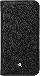 Montblanc Meisterstück Soft Grain Flipside Stand Up iPhone Apple XS Black Pocket Organiser 14 cm Black