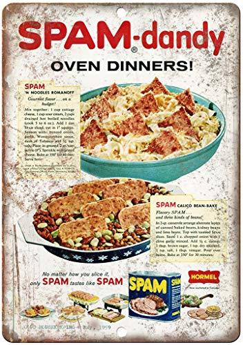 niet Hormel Spam Dandy Oven Diners Metalen tin teken schilderij decoratie Populaire IJzeren Schilderij Poster Voor bar cafe eetkamer huis club