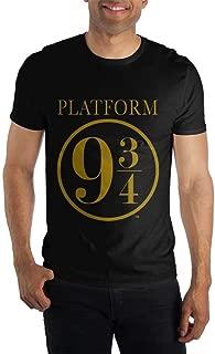 Harry Potter Hogwarts Express Platform Nine and Three-Quarters 9 3/4 Men's Black Tee T-Shirt Shirt