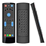 GOWELL Telecomando Bluetooth specifico, compatibile con Amazon Fire TV e Fire TV Stick Air Mouse Remote Mini tastiera e IR Learning funziona con Android TV Box Windows Raspberry Pi (senza Alexa)