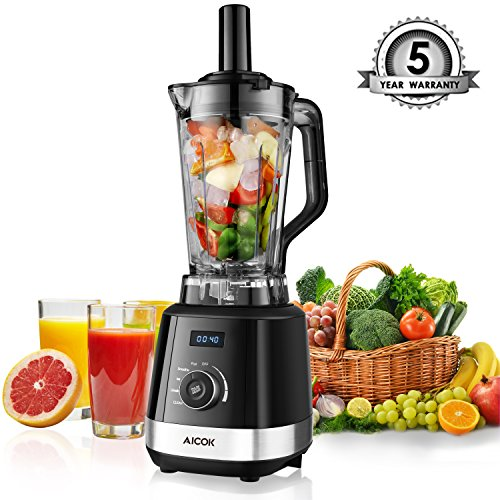 Aicok Mixeur Blender Smoothie 1500W 2L Blender...