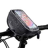 MXBIN Bicicleta Marco Frontal Bolsa Pantalla táctil de 6 Pulgadas Bolsa Impermeable for teléfono Bicicleta Ciclismo Motocicleta Bolsa Herramienta de reparación de Piezas de Accesorios